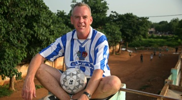 Coaching for Hope, Norman Cook in Mali 2006