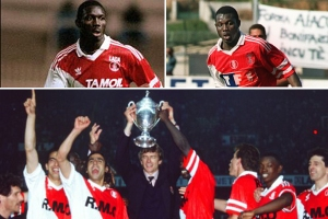 """Weah was a real surprise. For me it was like a child discovering a chocolate bunny in his garden at Easter. I have never seen any player explode on to the scene like he did."" Arsene Wenger"