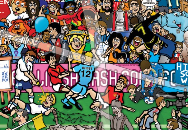 Football Mishmash illustration