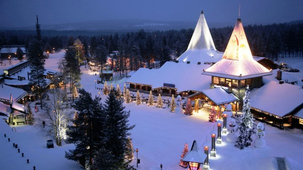 The Santa Claus village in Rovaniemi