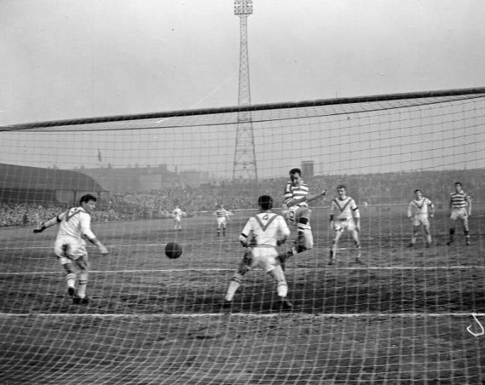 Airdrie at Celtic Park 1959