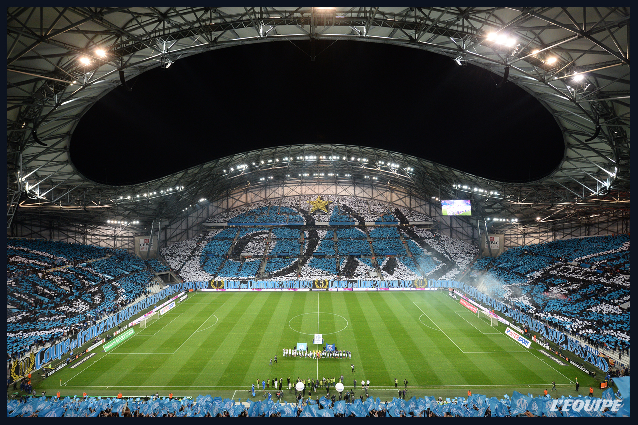 stadium of the week stade v lodrome olympique de marseille perennial underachievers. Black Bedroom Furniture Sets. Home Design Ideas
