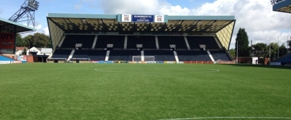 Kilmarnock's Rugby Prak surface was installed in the summer of 2014.